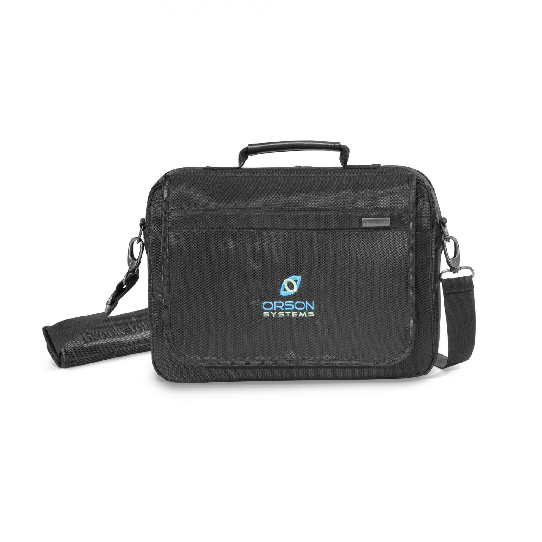 "Brookstone® Slim 13"" Computer Messenger Bag"