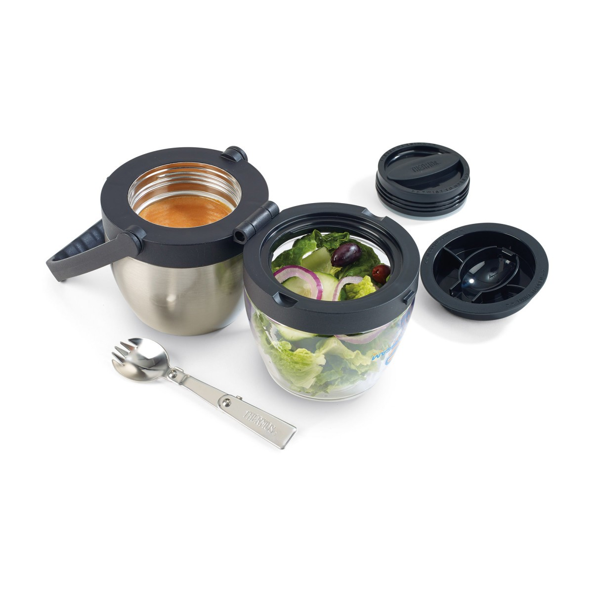 Thermos Dual Compartment Food Jar - 16 Oz.