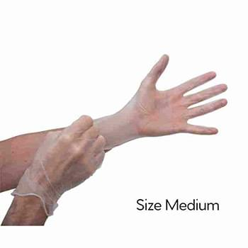 Transparent Gloves - Size M