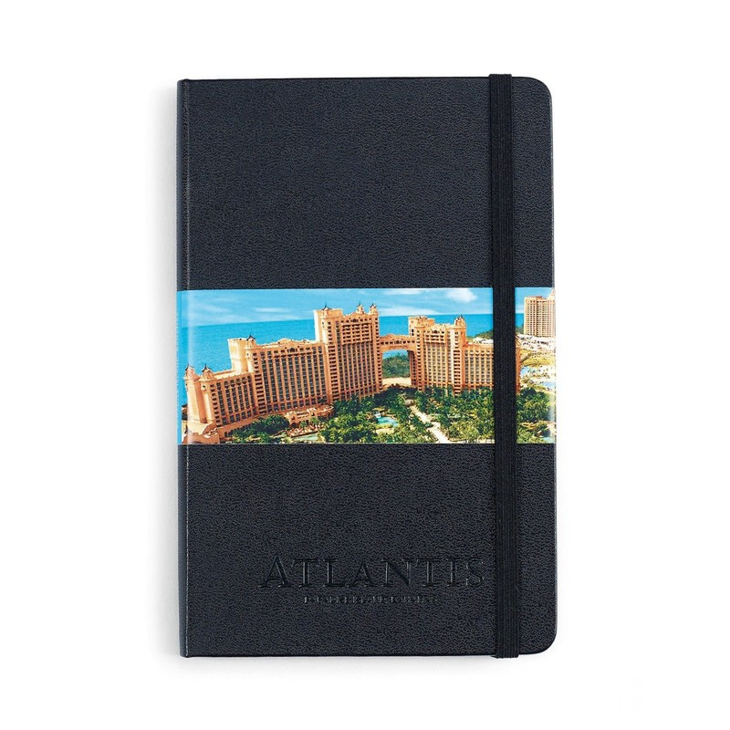 Moleskine Hard Cover Ruled Medium Notebook