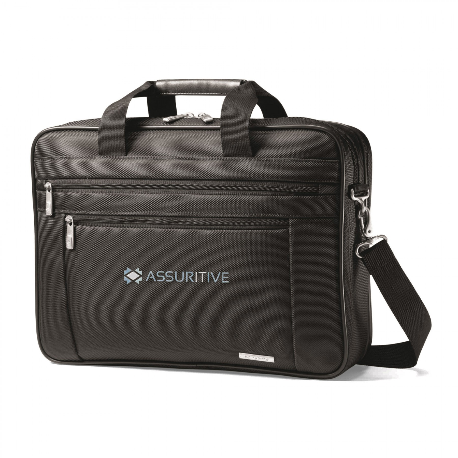 Samsonite Classic Business Perfect Fit Two Gusset Computer Portfolio