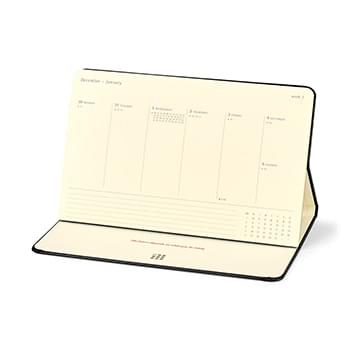Moleskine® Hard Cover Large 12-Month Weekly 2020 Desktop Planner
