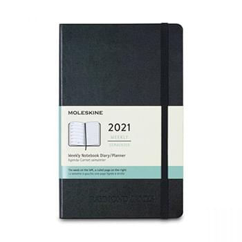 Moleskine® Hard Cover Large 12-Month Weekly 2021 Planner