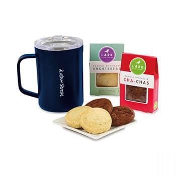Corkcicle® Sip & Indulge Cookie Gift Set