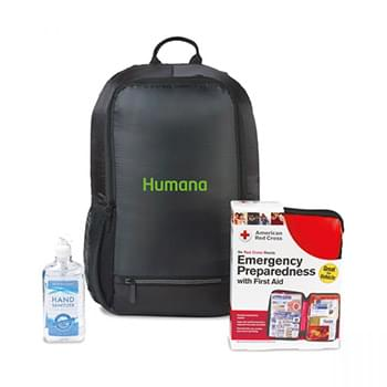 American Red Cross Preparedness Backpack Bundle