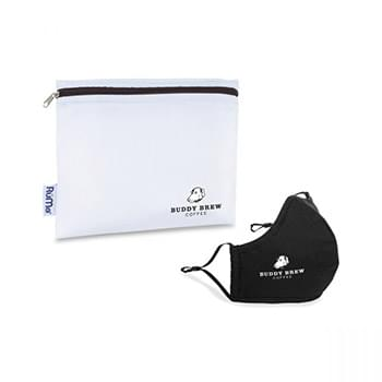 Reusable Face Mask and Storage Pouch Kit