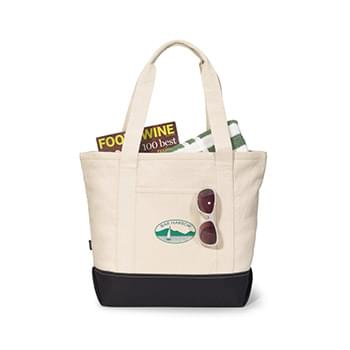 Newport Cotton Zippered Tote