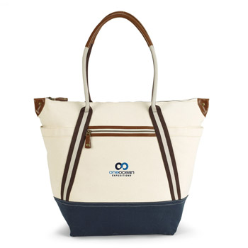 Heritage Supply Oasis Cotton Boat Tote