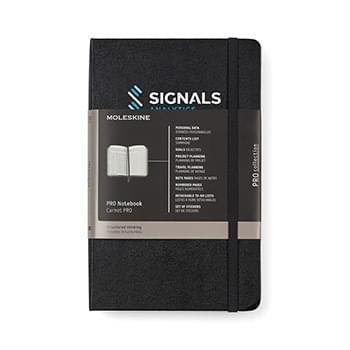 Moleskine® Hard Cover Ruled Large Professional Notebook