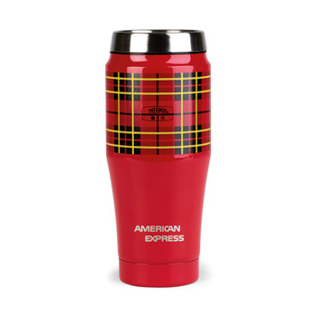Thermos® Heritage Plaid Travel Tumbler- 16 Oz.