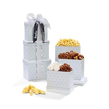 Moroccan Mosaic Gourmet Treats Tower