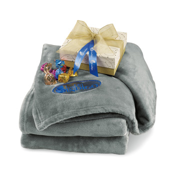Sweet Serenity Throw & Artisan Truffles