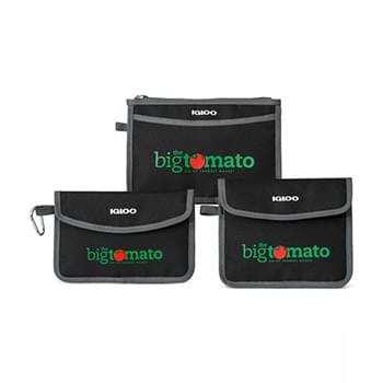 Igloo® Insulated 3 Piece Pouch Set