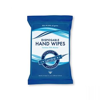 Sanitizing Disposable Hand Wipe Pack (10 wipes per pack) - Direct Import